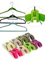 3D Space Saving Hanger Magic Clothes Hanger with Hook Closet Organizer(10PCS)