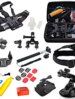 Gopro Accessories 27 in 1 Monopod Float Bobber Chest Belt Set For Gopro Hero 4 Session 3 SJ4000 SJ5000 Xiaomi yi