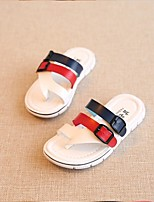 Childrens' Shoes Casual Faux Leather Sandals Black / Yellow / White