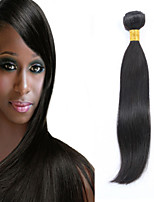 1PCS Malaysian Straight Hair Human Hair Weaves Natural Color 8-26 inch Virgin Hair