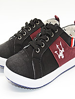Men's Shoes Outdoor / Athletic / Casual Fabric Fashion Sneakers Black / Blue / Gray