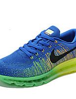Zapatos Sneakers Tejido Negro / Azul / Morado Hombre