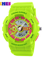 Montre de sport Enfant / Unisexe LCD / Calendrier / Chronographe / Etanche / Soloar / Montre de Sport Numérique Numérique