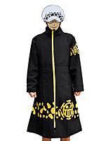One Piece Black Wool Cosplay Cloak