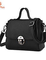 M.Plus® Women's Fashion Korean PU Leather Messenger Shoulder Bag/Tote