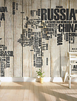 JAMMORY Art Deco Wallpaper Classical Wall Covering,Other A Large Mural Wallpaper Nostalgic Retro Map