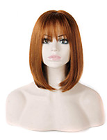 raisonnable dans le prix des extensions femmes dame couleur brun de style charmant perruques synthétiques