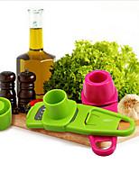 Multi Functional Ginger Garlic Grinding Grater Planer Slicer Mini Cutter Cooking Tool Kitchen (Random Color)