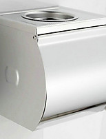 Ashtray Contained Contemporary Stainless Steel Chrome Wall Mounted Toilet Paper Holder