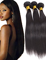 8-26inch Brazilian Virgin Striaght Hair Natural Black Hair Unprocessed Braizlian Human Hair Weaves
