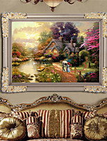 DIY 5D Full of Diamonds Embroidery Diamond Mosaic Mediterranean atmosphere Round Diamond Painting Cross Stitch Kits
