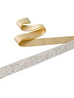 Satijn Huwelijk / Feest/Uitgaan / Dagelijks gebruik Sjerp-Sierstenen / Strass / Imitatieparel Dames 98½In (250Cm)Sierstenen / Strass /