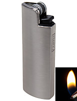 CLIPPER Fashion Mini Grinding Wheel Cigarette Refillable Butane Gas Metal Lighters