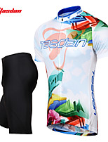 Tasdan Men's Cycling Clothing Cycling Sets  Cycling Jerseys Short sleeve  + Cycling Shorts