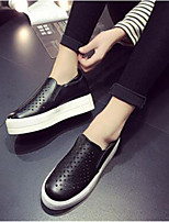 Women's Shoes Platform Creepers Fashion Sneakers Outdoor / Casual Black / White / Silver