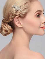 Dame Rhinestone Headpiece Bryllup / Spesiell Leilighet / Avslappet / Kontor & Karriere / Utendørs HårkammerBryllup / Spesiell Leilighet /