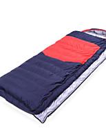 800g Down Nylon Taffeta Lining Single Rectangular Bag/Sleeping Bag for Camping and Hiking