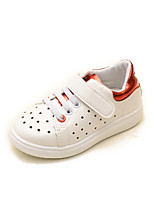 Girls' Shoes Athletic / Casual Comfort / Round Toe Fashion Sneakers / Loafers Black / Red / Gold
