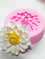 Lotus Silicone Mold Soap Mold Chocolate Fondant Mold
