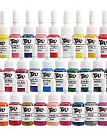 BaseKey Tattoo or  Makeup Ink Colors 28 x 5ml