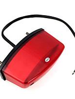 copertina rossa della bici del motociclo 21 LED lampada di coda luce freno posteriore CC 12V