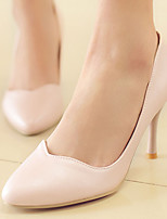 Women's Shoes Stiletto Heel/Pointed Toe Heels Party & Evening/Dress Black/Green/Pink/White