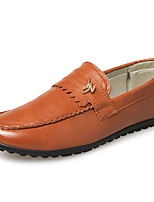 Men's Shoes Outdoor / Office & Career / Athletic / Casual PVC Loafers / Espadrilles Black / Blue / Brown