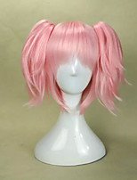2 Colors Pink&Red  Cosplay Wigs Woman's Hair Wig Synthetic Suit for Party