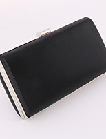 Women PU Minaudiere Clutch / Evening Bag / Wallet / Mobile Phone Bag-Gold / Silver / Black