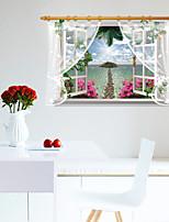 Landschaft / 3D Wand-Sticker 3D Wand Sticker,PVC 90*60cm