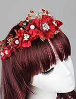 Women's Pearl Headpiece - Wedding / Casual Wreaths 1 Piece