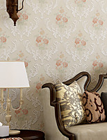 Contemporary Wallpaper Art Deco 3D Romantic Pastoral Wallpaper Wall Covering Non-woven Fabric Wall Art