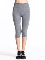 Mujer Carrera Pantalones / Crop Yoga / Fitness / Deportes recreativos / RunningTranspirable / Alta transpirabilidad / Permeabilidad a la