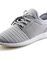 Zapatos de Hombre-Sneakers a la Moda-Casual-Semicuero-Negro / Azul / Gris