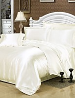 Silk Bedding Set,Home Textile King Queen Size,bedclothes,Duvet Cover Flat Sheet Pillowcases
