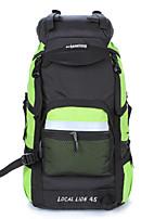 Backpack Camping & Hiking Waterproof / Rain-Proof / Multifunctional 40 L  Terylene / 600D Ripstop