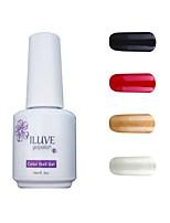 ILuve Gel Nail Polish Set - Pack Of 4 - Long Lasting 3 Weeks Soak Off UV Led Gel Varnish – For Nail Art #4059