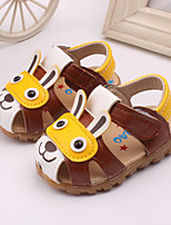 Baby Shoes Dress / Casual Leather Fashion Sneakers Blue / Brown / Yellow