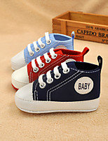 Baby Shoes Outdoor / Casual Canvas Fashion Sneakers Blue / Green / Pink / Red / Royal Blue / Orange / Coral
