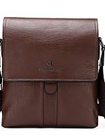 VUITTON Men PU Messenger Shoulder Bag / Satchel - Brown / Black / Khaki