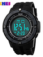 Sports Watch Men's / Ladies' / Kids' / Unisex LCD / Calendar / Chronograph / Water Resistant / Dual Time Zones / Sport Watch Digital