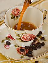 après-midi, le thé de tasse de thé en céramique de style britannique china