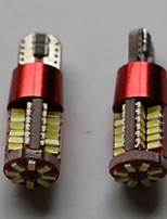 t10 3014-56smd multicolor de luces laterales