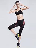 Mujer Carrera Prendas de abajo / Shorts / Pantalones Yoga / Fitness / Carreras / Deportes recreativos / BaloncestoTranspirable / Secado