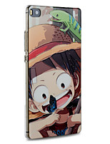 Cartoon Luffy Protective Back Cover Ultra Thin Hard Huawei Case for Huawei P8