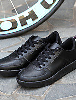Men's Shoes Outdoor / Casual / Athletic Leather Fashion Sneakers / Athletic Shoes Black / Red / White