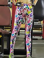 Mujer Carrera Pantalones Yoga / Pilates / Fitness / Deportes recreativos / RunningTranspirable / Secado rápido / Reductor del Sudor /