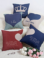 Baolisi Set of 5 LOVE系列-2 Decorative Pillow /Modern Fashion Couples