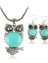 Women's Alloy Jewelry Set Turquoise