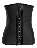 4Steel Bone Waist Training Corset 100% Latex Corset Sexy Women Latex Waist Cincher Slimming Shapewear Bodysuit